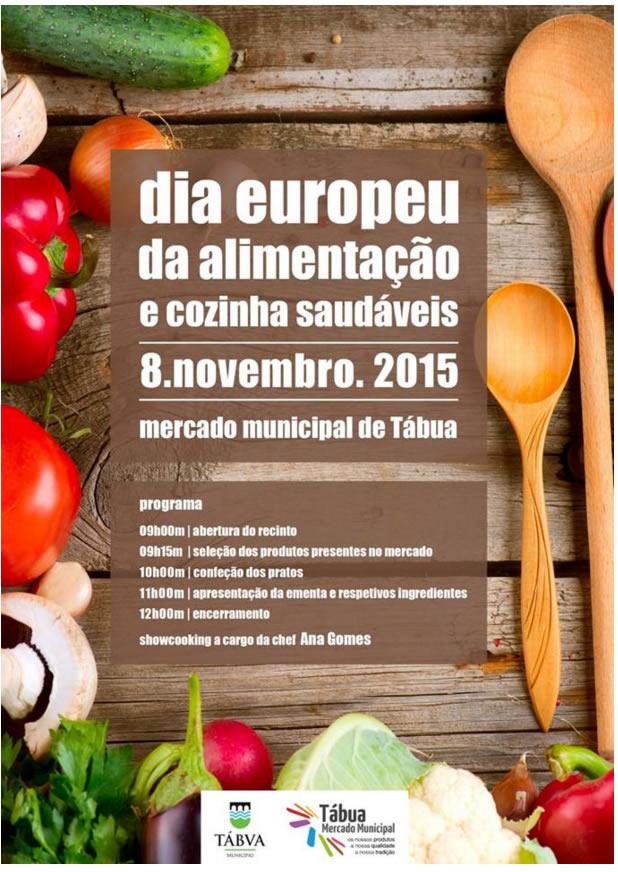 Dia Europeu da Alimentação e Cozinha Saudáveis 2