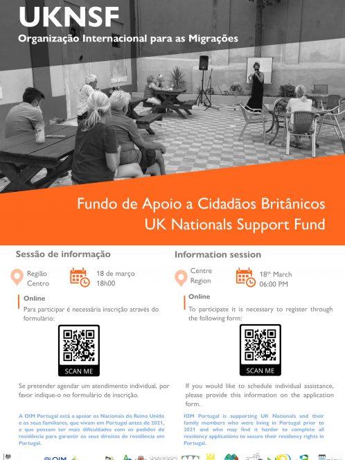 (Português) Sessão Informativa sobre o projeto UKNSF