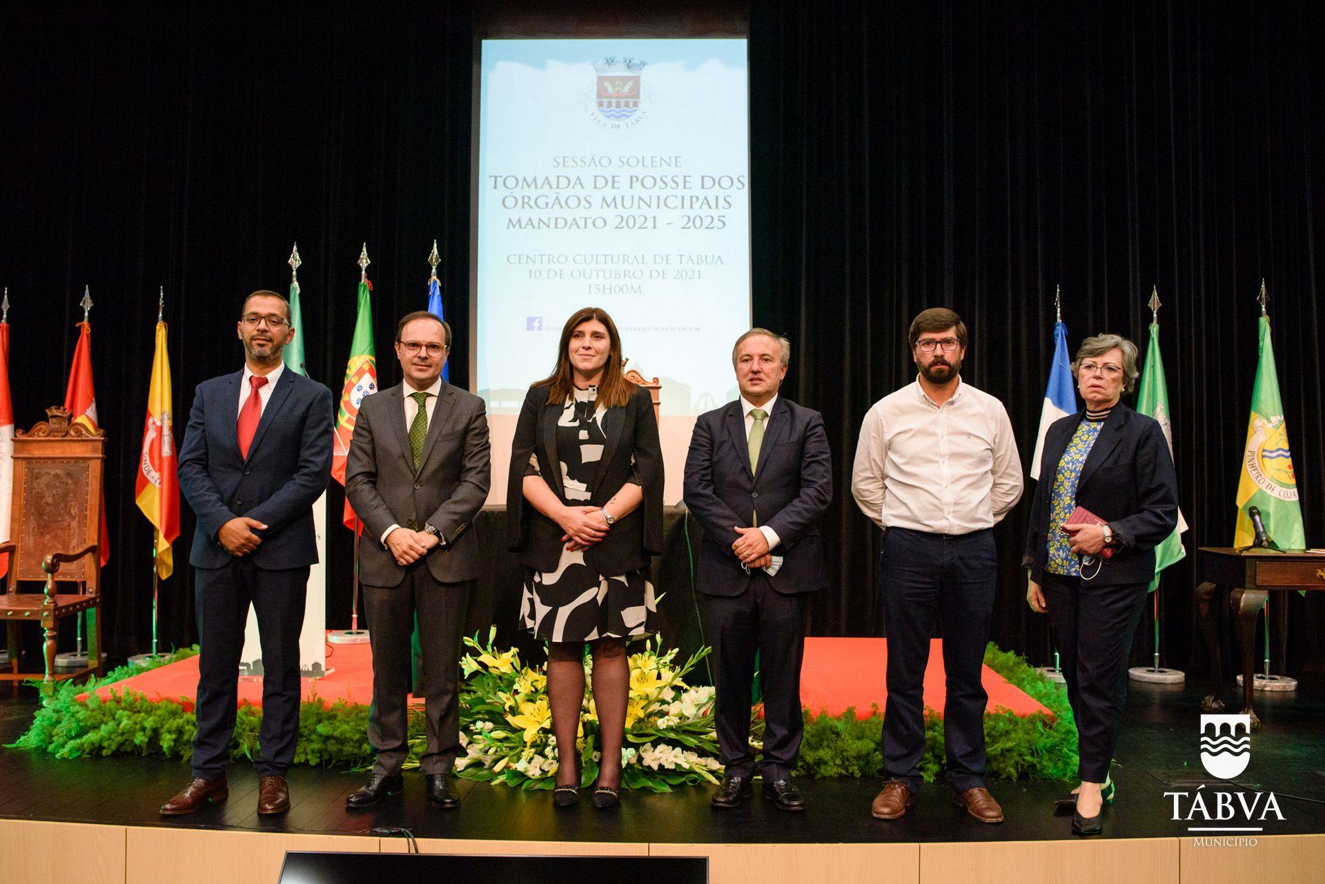 (Português) Novos Órgãos do Município de Tábua tomam posse em Sessão Solene